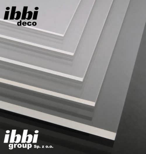 Ibbi Deco Plexi 3 mm bezbarwna Pleksi na wymiar