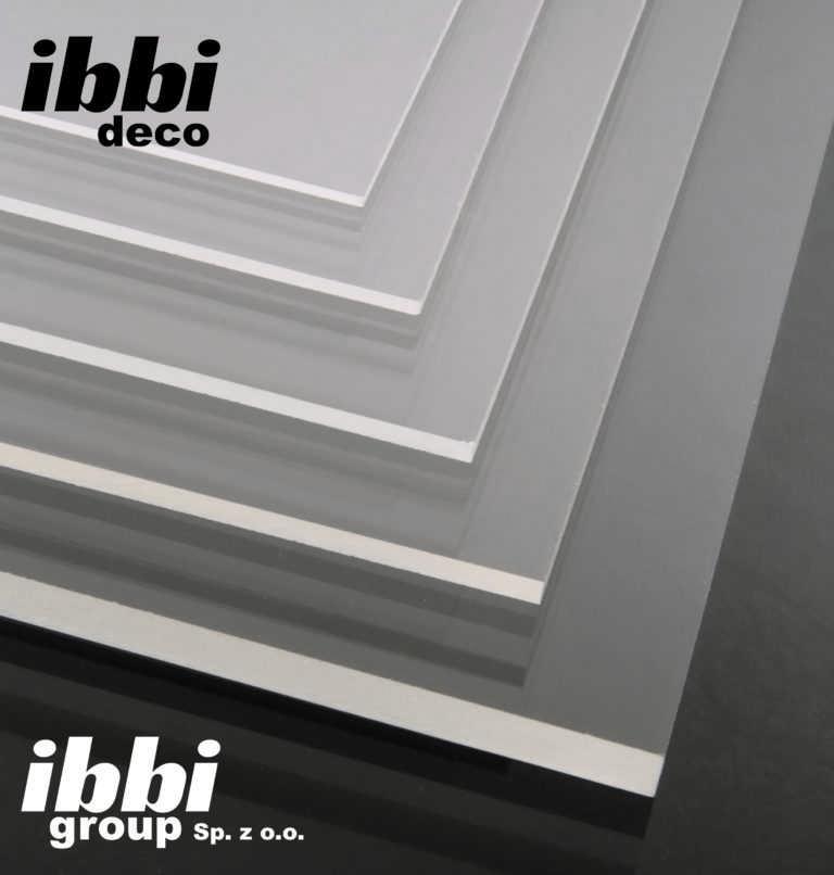 Ibbi Deco Plexi 4 mm bezbarwna Pleksi na wymiar