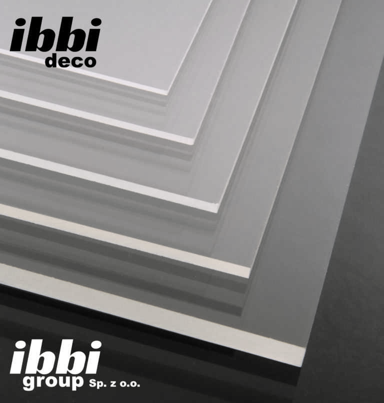 Ibbi Deco Plexi 5 mm bezbarwna Pleksi na wymiar