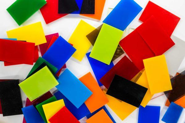 Plexi kolorowa cięcie na wymiar