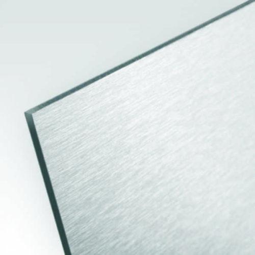 Dibond szczotkowany srebrny